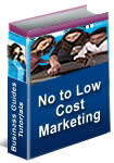 No to Low Cost Marketing