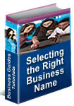 Selecting the Right Business Name
